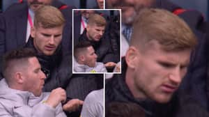 Timo Werner Genuinely Looked Disgusted At Being Given Orange Wine Gum During Norwich Game
