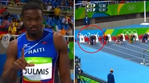 Athlete 'Scammed People Into Thinking He'd Win' During 110-Metre Hurdles