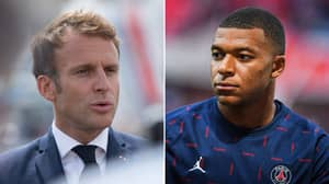 PSG Plan To Use French President Macron To Convince Kylian Mbappe To Stay At The Club