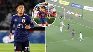 Real Madrid Confirm Signing Of 'Japanese Messi' Takefusa Kubo