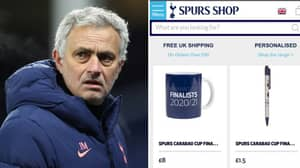 Tottenham Relentlessy Mocked For Selling Carabao Cup Final Merchandise On Official Club Shop Website