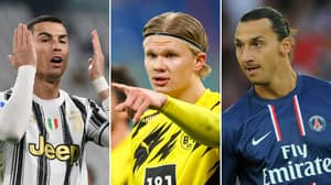 The Players To Reach 25 Goals Fastest In Europe's Top Five Leagues This Century Have Been Named