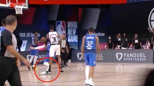 Fans on Twitter Are Convinced Marcus Morris Intentionally Stepped On Luka Doncic's Injured Ankle