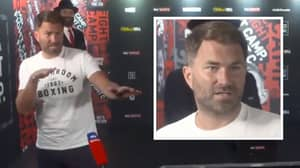 "Eddie Hearn Says ""Cha'mone Motherf**kers"" Live On Sky Sports - Not Knowing He Was Live"