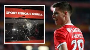 Benfica Team Bus Attacked After First Game Back With Two Players Sent To Hospital