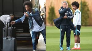 Manchester United 'Have Bid Accepted' For Chelsea's Willian