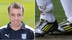 Dundee FC Player Had To Wear An Electronic Tag Against St Mirren