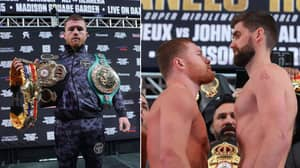 Canelo Stops Rocky Fielding To Win WBA Super-Middleweight Title