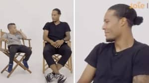 Liverpool's Virgil Van Dijk Savagely Trolls 8-Year-Old Everton Supporter In Q&A Session
