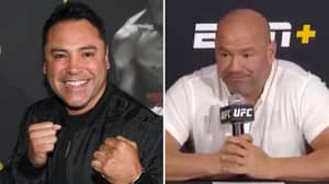 Dana White Gives A Savage Response Over Oscar De La Hoya's Boxing Comeback