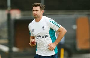 James Anderson Misses First Test Against Pakistan