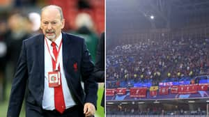 Liverpool Chief Peter Moore Stays With Fan 'Ambushed' Before Champions League Game Versus Napoli