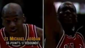 When Michael Jordan Threw A Free Throw With His Eyes Shut