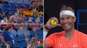 Rafael Nadal Couldn't Stop Laughing At A 'Drunk' Fan Abusing Him During Australian Open
