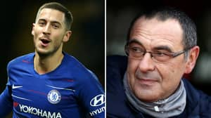 What Sarri Has Said About Hazard Will Panic Chelsea Fans 24 Hours Before Transfer Deadline