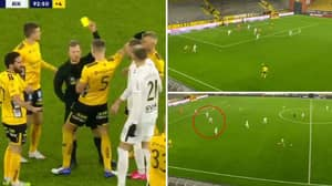 The Incredible Moment Swedish Side AIK Kick Another Ball On The Pitch To Stop 93rd Minute Counter Attack