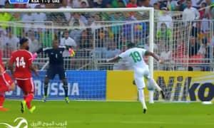 WATCH: Saudi Arabia Striker Scores Van Basten Esque Wonder Volley