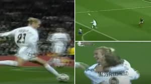 David Beckham's 60-Yard Assist For Raul In Madrid Derby Defied Physics, It Still Needs Explaining