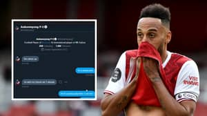 Pierre-Emerick Aubameyang Says He Will Not Play FIFA This Year After Twitter DM's Emerge