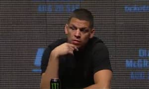 Nate Diaz Live Tweets During Farcical UFC 202 Press Conference
