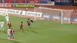 When Djibril Cisse Hit Such A Good Penalty That The Ball Got Stuck