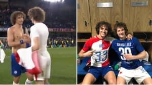 The Hilarious Moment David Luiz Met David Luiz After Last Night's Game