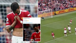 Rival Fans Are Ripping Into Manchester United For 'Cringey' Social Media Post About Bruno Fernandes