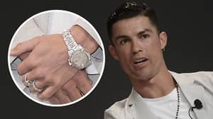 Cristiano Ronaldo Is The Owner Of The Most Expensive Rolex Watch In History