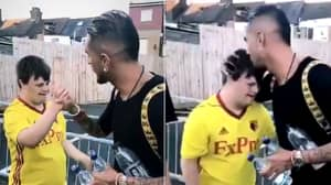 Roberto Pereyra Makes Young Watford Fan's Day With Brilliant Gesture