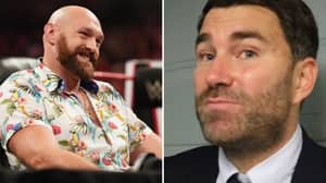 Eddie Hearn Claims Tyson Fury Is 'Packing Up' From Boxing