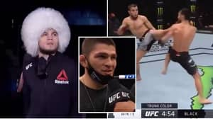 Khabib's Cousin, Umar, Puts On Near-Perfect Performance On UFC Debut