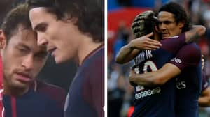 Edinson Cavani Misses Penalty For PSG After Asking Neymar To Take It