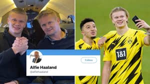 Erling Haaland's Dad Reacts As Jadon Sancho's Move To Manchester United Is Finally Confirmed