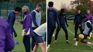 Jose Mourinho's First Training Session At Spurs Is A Fascinating Watch