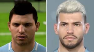 Sergio Aguero's Updated PES 2019 Face Blows FIFA's Out Of The Water