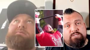 'The Mountain' Issues Emotional Response To Longtime Rival Eddie Hall's 'Exposed' Video