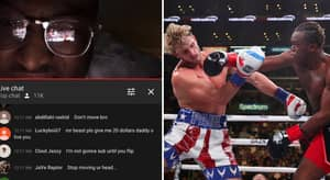 Youtuber Streams KSI & Logan Paul Fight From The Reflection Of His Glasses