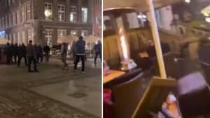 Manchester United Fans Attacked And Robbed By Locals In Gdansk Ahead Of Europa League Final
