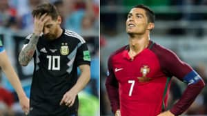 Cristiano Ronaldo And Lionel Messi's Record Against Iceland Is Truly Ridiculous