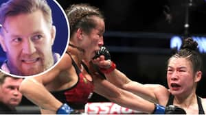 Conor McGregor Reacts To Weili Zhang Vs. Joanna Jedrzejczyk Decision At UFC 248