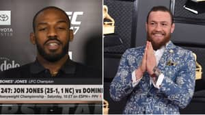 Jon Jones' Response When Asked If Conor McGregor Is The GOAT Of MMA