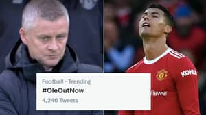#OleOutNow Trending After Disastrous Manchester United Performance Against Liverpool