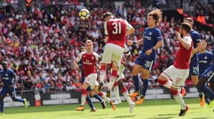 Arsenal And Chelsea Contest Entertaining Community Shield Clash At Wembley
