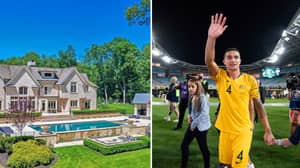 Tim Cahill's New Jersey Mansion Is A Sport Nut's Dream And Is Up For Sale