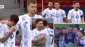 Special Camera Focusing On Lionel Messi During Penalty Shootout Shows His Passion For Argentina Is Unrivalled