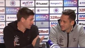 Steven Gerrard Has To Translate Scottish Accent For Nikola Katic