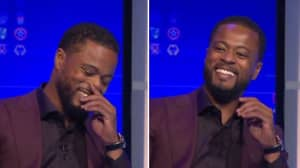 Patrice Evra Couldn't Help But Laugh At Roy Keane's Ranting