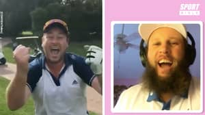 Andrew 'Beef' Johnston Rates SPORTbible Fans' Golf Skills