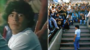 The First Clip From The Simply Maradona Documentary Has Been Released