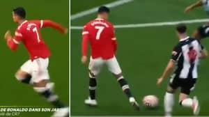 New Footage Shows Cristiano Ronaldo Hitting 32.5kmph Before Scoring Second Goal, It's Superhuman